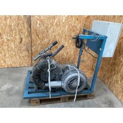 Turbine Elmo Rietschle - Siemens avec armoire de commande Colortronic
