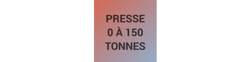 Presse de 0 à 150 tonnes
