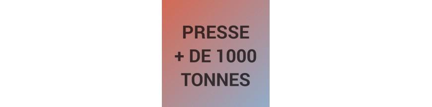 Presse de plus de 1000 tonnes